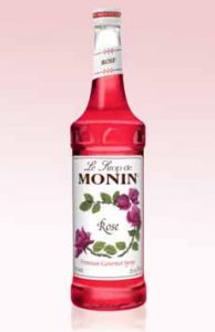 Rose Simple Syrup Monin