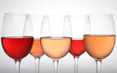 Shades Of Rose Wine