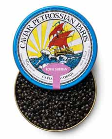 Royal Siberian Caviar - Petrossian