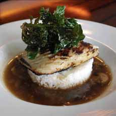 Sablefish With Kale