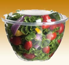 Salad In Container