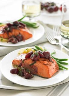Salmon With Sauvignon Blanc