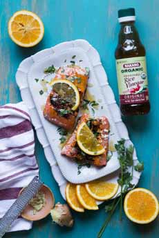 Salmon Rice Vinegar Marinade