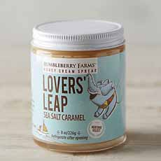 Lover's Leap Salted Caramel Honey - Bumbleberry Farms