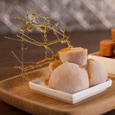 Salted Caramel Mochi Doki