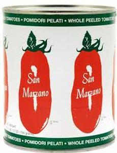 San Marzano Tomatoes Can