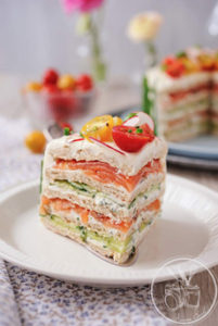 Sandwich Cake Slice