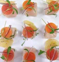 Sashimi Appetizer Bites