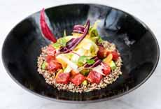 Sashimi Salad With Quinoa