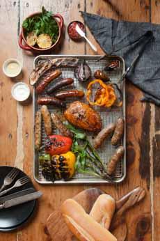 Sausage Platter Les Trois Petits Cochons