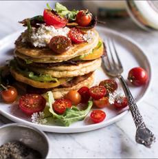 BLT Pancakes Recipe