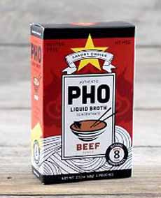 Savory Choice Beef Pho