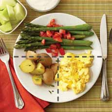 Healthy Scrambled Egg With Vegetables