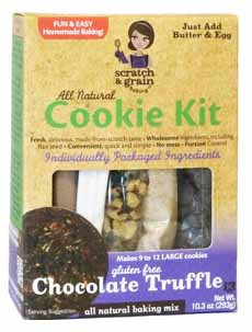 Scratch & Grain Chocolate Truffle Cookies Gluten Free
