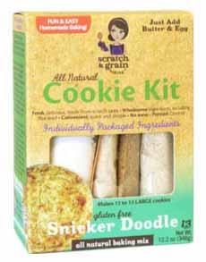 Gluten Free Snickerdoodle Cookie Mix
