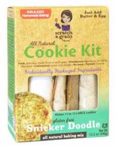 Gluten Free Snickerdoodle Cookie Mix