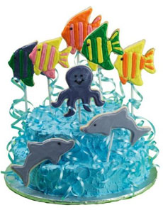 sea-creature-cookie-garnish-wilton