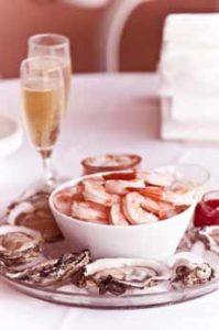 Shrimp With Rose Wine