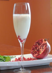 Pomegranate Sgroppino
