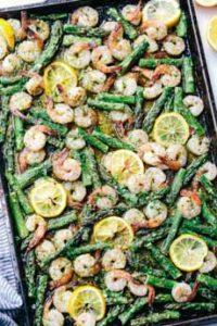 Sheet Pan Shrimp & Asparagus