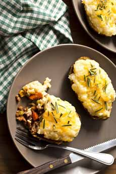 Shepherd's Pie Baked Potato