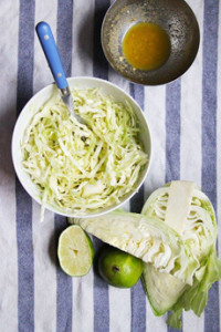 Cabbage Slaw With Lime