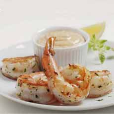 Shrimp With Amaretto Marinade