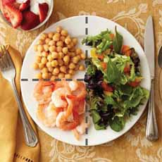 Shrimp Salad Plate