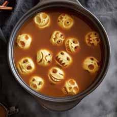 Apple Skulls in Apple Cider