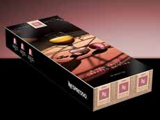 Nespresso Aged Coffee 2014