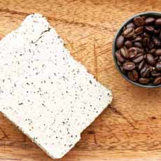 Halva With Ground Coffee Beans