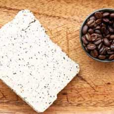 Halva With Ground Coffee Beans