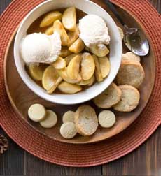 Slow Cooker Sauteed Apples