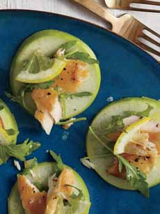 Smoked Trout Canapes Recipe