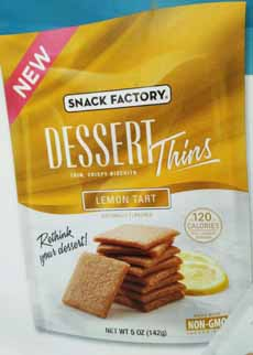 Snack Factory Dessert Thins - Lemon