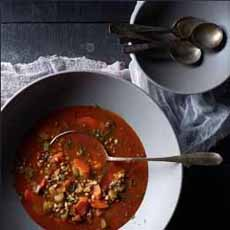 Soup With Sprouted Rice