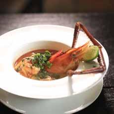 Shrimp Soup With Crayfish