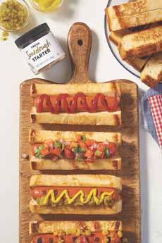Sourdough Hot Dog Buns