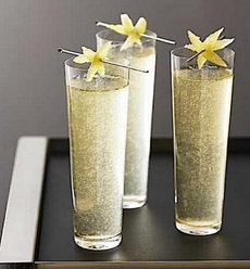 La Poire Sparkling Cocktail