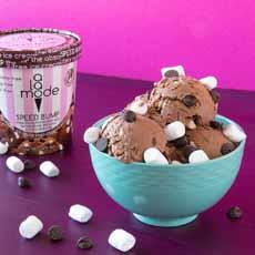A La Mode Ice Cream Speed Bump