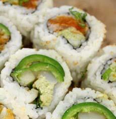 Cucumber & Hummus Sushi