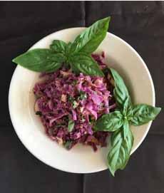Spicy Thai Cabbage Salad