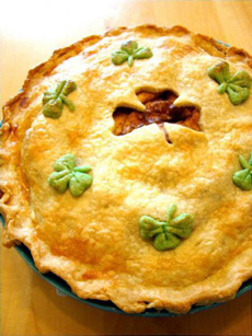 St. Patrick's Day Pie