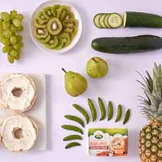 Fruit & Vegetable Bagel Toppings
