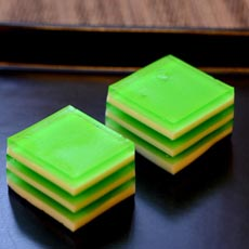 Green Jell-O Squares