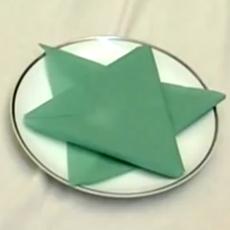 Star Of David Napkin Fold