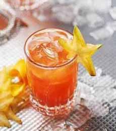 Starfruit Cocktail Garnish