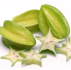 Sliced Carambola Starfruit