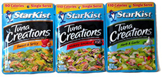Flavored Tuna Pouches