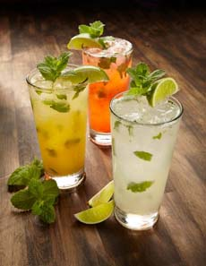 Flavored Mojitos
